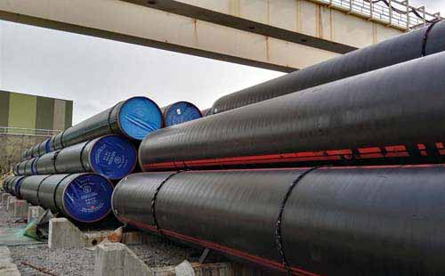 Carbon Steel API 5L Gr.B PSL 1 Pipes