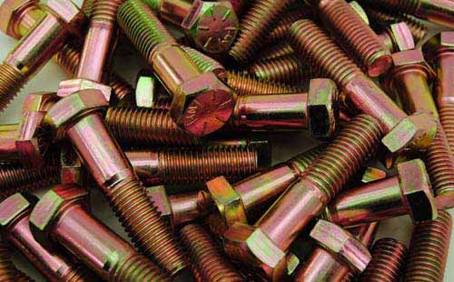 Copper Nickel 70/30 Bolts