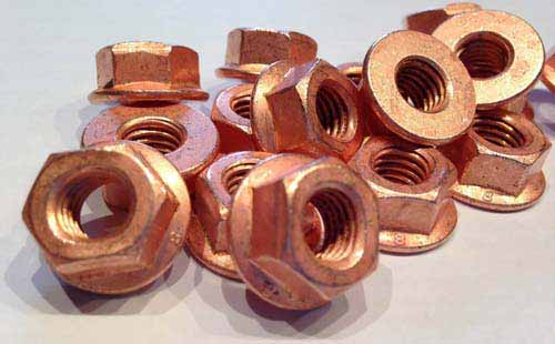 Copper Nickel 70/30 Nuts