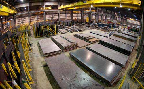 Carbon Steel A283 Gr D Sheet and Plates