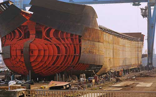 Ship Building Steel