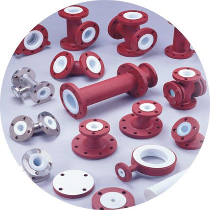 PTFE Lined Pipe Fittings